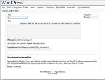WordPress 1.0.1